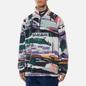 Мужская толстовка Napapijri Revontulet Micro Zip Fleece White/All Over Print фото - 2