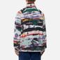 Мужская толстовка Napapijri Revontulet Micro Zip Fleece White/All Over Print фото - 3