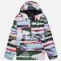 Мужская куртка анорак Napapijri Revontulet All Over Print White/Multi-Color фото - 0
