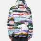 Мужская куртка анорак Napapijri Revontulet All Over Print White/Multi-Color фото - 3