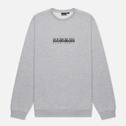 Мужская толстовка Napapijri Box Crew Light Grey Melange