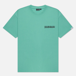 Мужская футболка Napapijri Inari Green Dusty