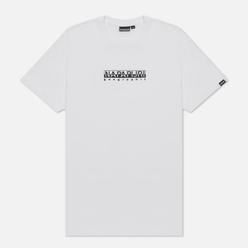 Мужская футболка Napapijri Box Bright White
