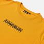 Мужская футболка Napapijri Box Yellow Solar фото - 1