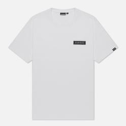 Мужская футболка Napapijri Patch Bright White