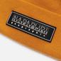Шапка Napapijri Patch Beanie Yellow Solar фото - 1