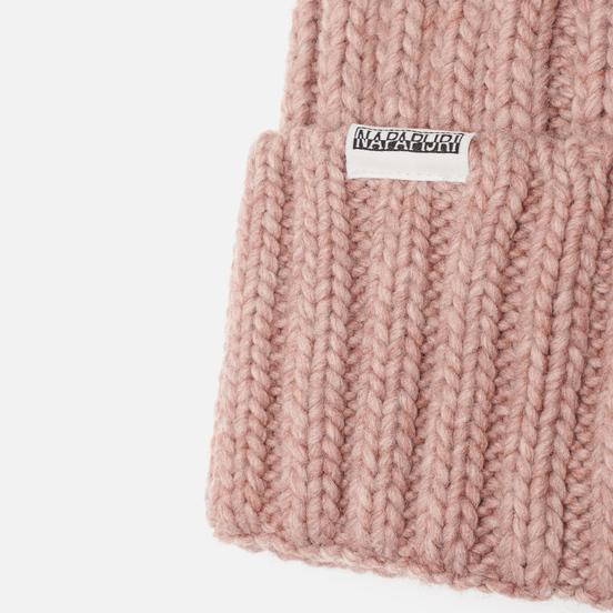 Шапка Napapijri Semiury Wom 1 Pink Woodrose