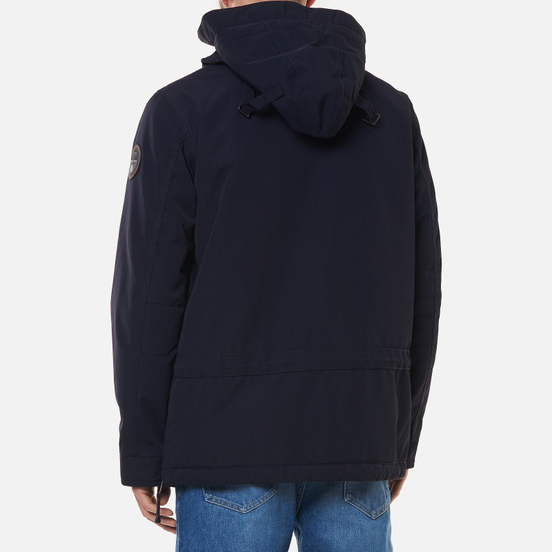 Мужская куртка анорак Napapijri Skidoo 3 Blue Marine