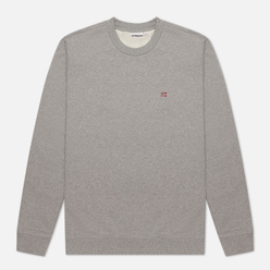 Мужская толстовка Napapijri Balis Crew Medium Grey Melange