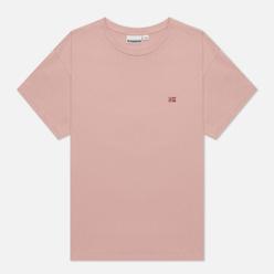 Женская футболка Napapijri Salis Pink Woodrose
