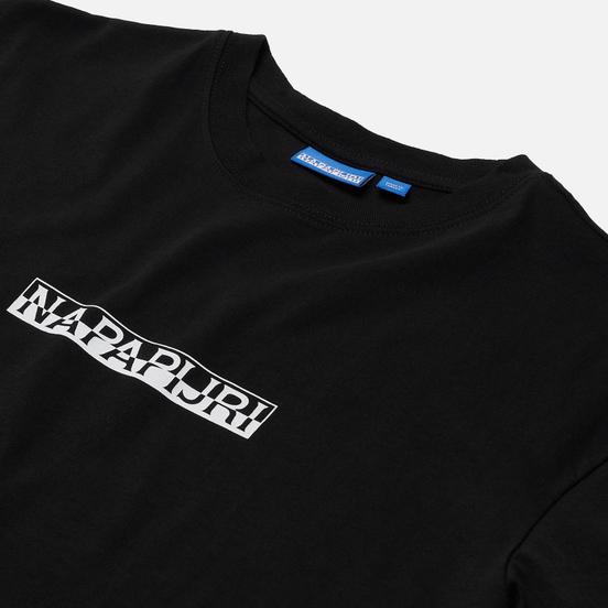 Женская футболка Napapijri Box Black