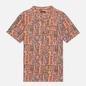 Мужская рубашка Napapijri Napali Orange Mask фото - 0