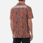 Мужская рубашка Napapijri Napali Orange Mask фото - 4