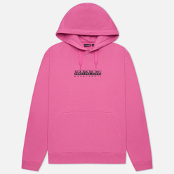 Мужская толстовка Napapijri Box Hoodie Pink Super