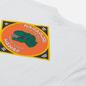 Мужская футболка Napapijri Alhoa Graphics White/Orange/Green фото - 2