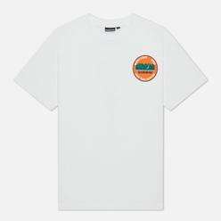 Мужская футболка Napapijri Alhoa Graphics White/Green/Orange