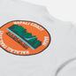 Мужская футболка Napapijri Alhoa Graphics White/Green/Orange фото - 2
