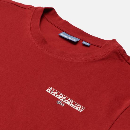 Мужская футболка Napapijri Ice Old Red