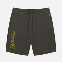 Мужские шорты Napapijri Nallar Dark Grey Solid