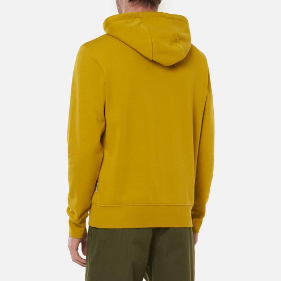 Мужская толстовка Napapijri Ballar Hoodie Yellow Moss
