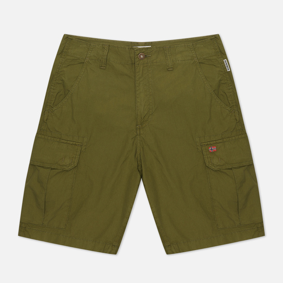 Мужские шорты Napapijri Noto Cargo Green Cypress