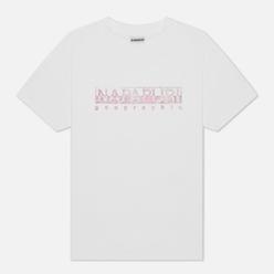 Женская футболка Napapijri Silea Bright White