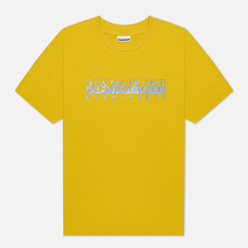 Женская футболка Napapijri Silea Yellow Moss