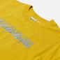 Женская футболка Napapijri Silea Yellow Moss фото - 1