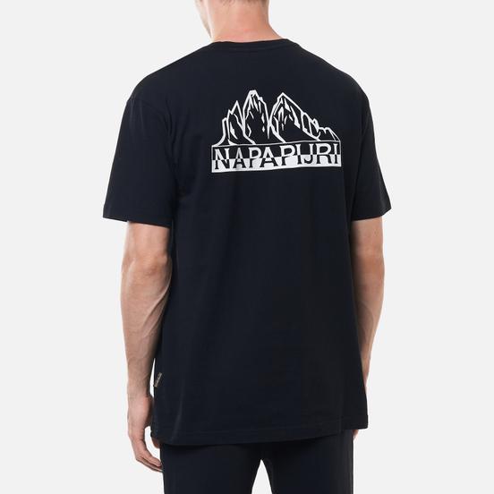 Мужская футболка Napapijri Saretine Black