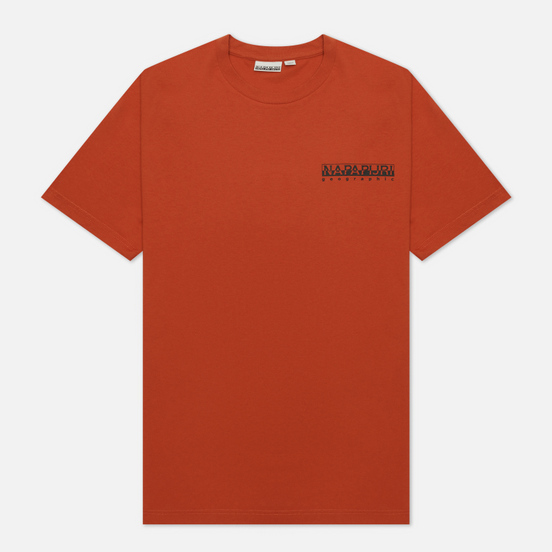 Мужская футболка Napapijri Saretine Orange Ginger