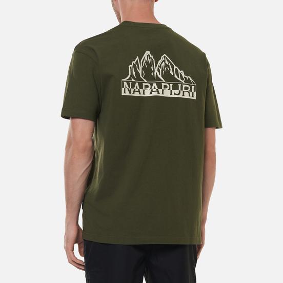 Мужская футболка Napapijri Saretine Green Depths