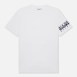 Мужская футболка Napapijri Sadas Bright White