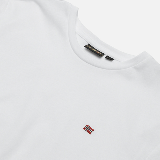 Мужская футболка Napapijri Salis Bright White