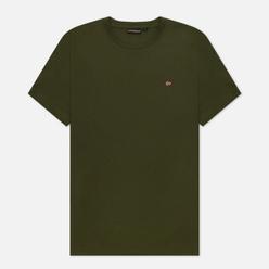 Мужская футболка Napapijri Salis Green Depths