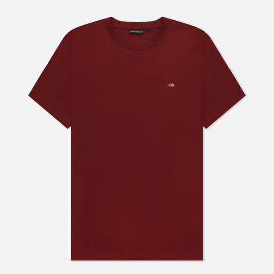 Мужская футболка Napapijri Salis Vint Amaranth