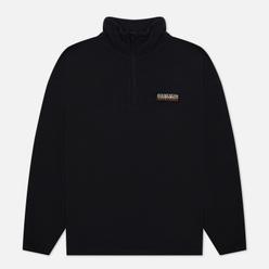 Мужская толстовка Napapijri Patch Half Zip Fleece Black