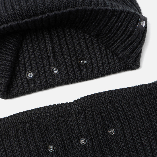 Набор аксессуаров The North Face Knit Beanie Gaiter TNF Black