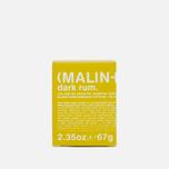 Набор ароматических свечей Malin+Goetz Dark Rum/Tobacco/Vetiver фото- 7