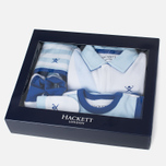 Набор детской одежды Hackett Logo White/Sky фото- 1