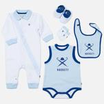 Набор детской одежды Hackett Logo White/Sky фото- 0