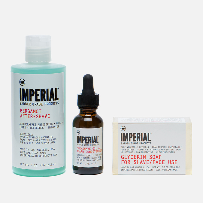 Набор для бритья Imperial Barber Shave Bundle