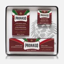 Набор для бритья Proraso Primadopo Vintage Selection Tin Red Range фото- 2