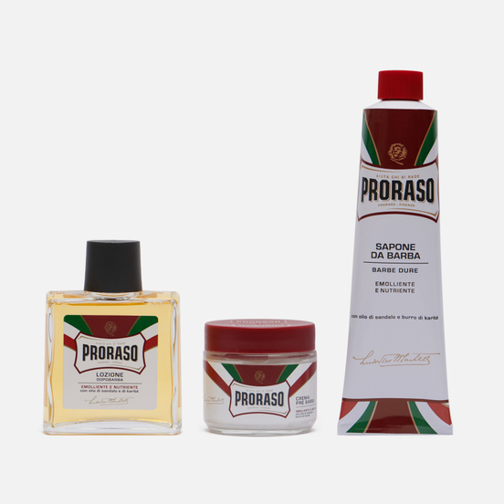 Набор для бритья Proraso Primadopo Vintage Selection Tin Red Range