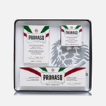 Набор для бритья Proraso Toccasana Vintage Selection Tin White Range фото- 2