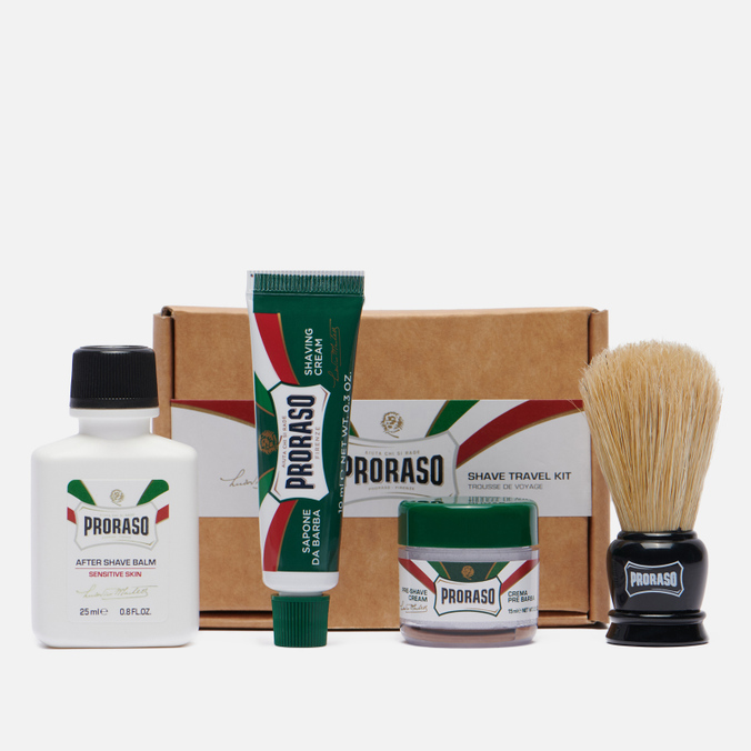 Набор для бритья Proraso Travel Shaving Set