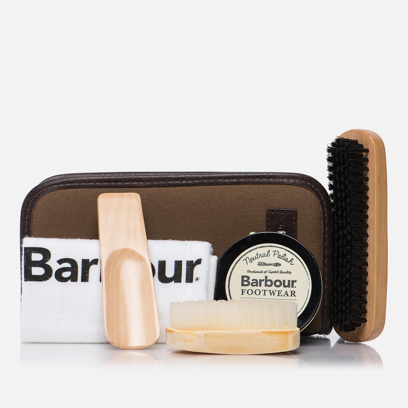 Набор для ухода за обувью Barbour Leather Care Kit