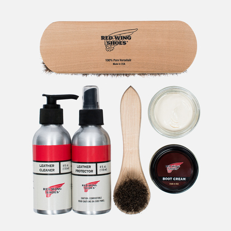 Набор для ухода за обувью Red Wing Shoes Smooth Finish Leather Care Product Kit