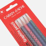 Набор карандашей Caran d'Ache Edelweiss Grafik 4 Pieces фото- 1