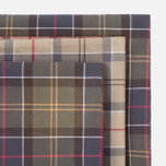 Barbour Tartan Cotton 3 pcs Handkerchiefs Set Multicolor photo- 4