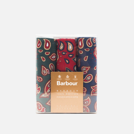 Набор платков Barbour Paisley Cotton 3 pcs Multicolor